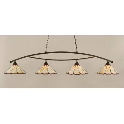 Austinburg 4-Light 150W Kitchen Island Pendant
