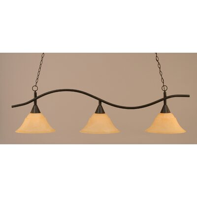 Swoop 3-Light Billiard Light