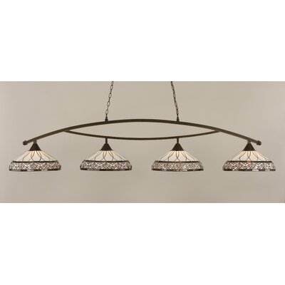 Austinburg 4-Light Metal Kitchen Island Pendant