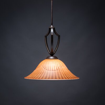 Zilo 1-Light Bowl Pendant