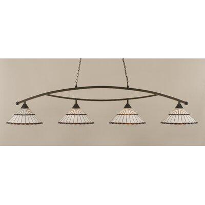Austinburg Contemporary 4-Light Kitchen Island Pendant