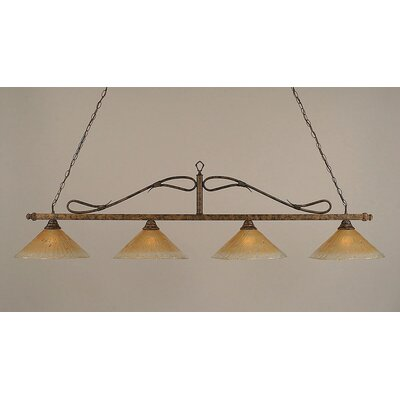 Reba 4-Light Billiard Light