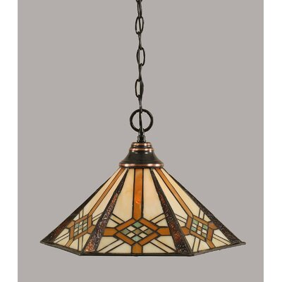 1-Light Mini Pendant Finish: Black Copper