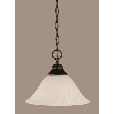 1-Light Mini Pendant Size: 9.25 H x 12 W x 12 D