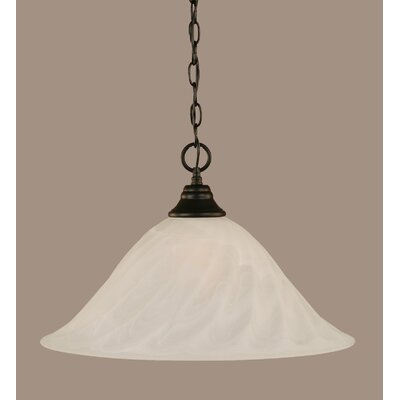 1-Light Mini Pendant Size: 12.75 H x 20 W x 20 D