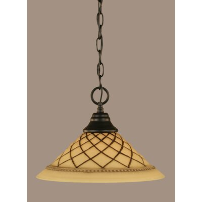 1-Light Mini Pendant Size: 11.5 H x 16 W