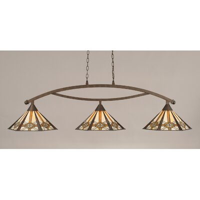 Austinburg 3-Light Billiard Light Color: Bronze