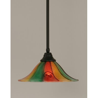 Stem 1-Light Mini Pendant Size: 8.5 H x 14 W