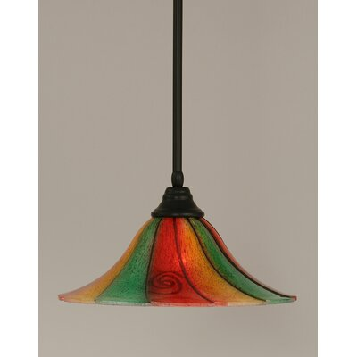 Stem 1-Light Mini Pendant Size: 10 H x 16 W
