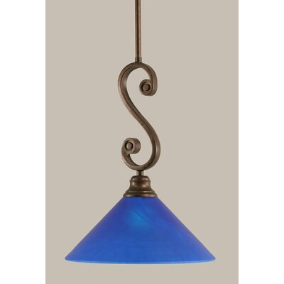 Jacksonville 1-Light Mini Pendant Size: 17 H x 12 W