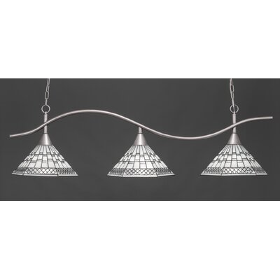 Swoop 3-Light Billiard Light