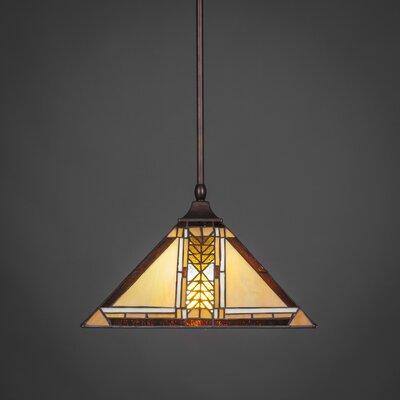 1-Light Mini Pendant Finish: Bronze