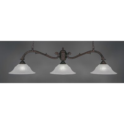 Octopus 3-Light Billiard Light