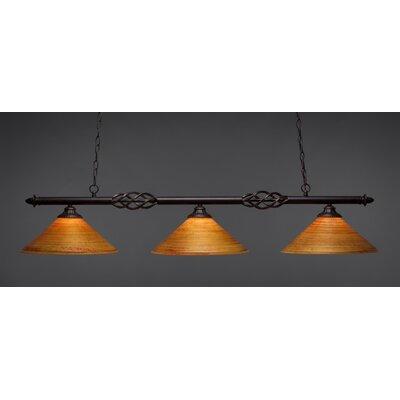 Elegante 3-Light Billiard Light