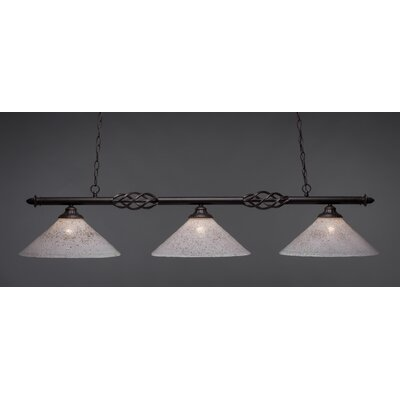 Elegante 3-Light Billiard Light