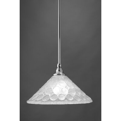 Stem Mini Pendant With Hang Straight Swivel Finish: Chrome