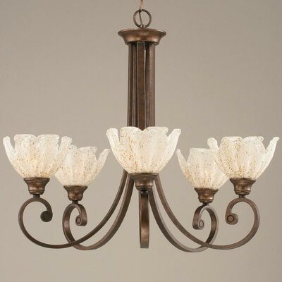 Babin 5-Light Shaded Chandelier
