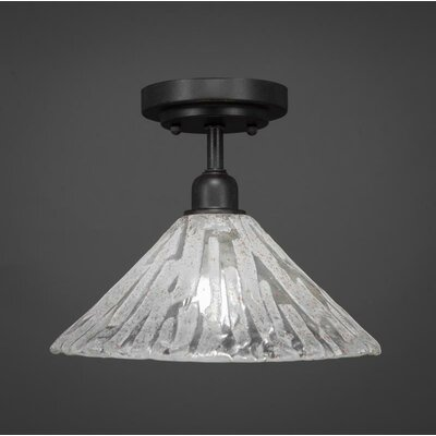 Kash 1-Light Semi-Flush Mount