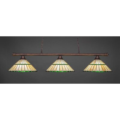 Oxford 3-Light Billiard Pendant