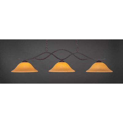 Revo 3-Light Kitchen Island Pendant