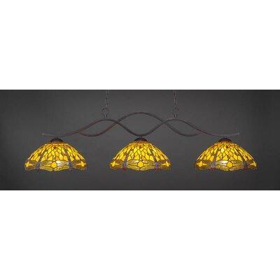 Revo 3-Light Billiard Pendant