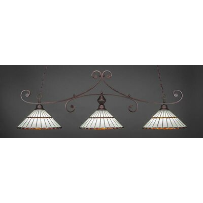 Copeland 3-Light Billiard Pendant