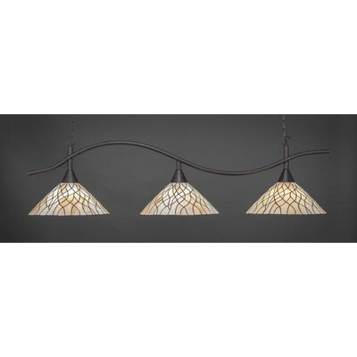 Swoop 3-Light Billiard/Island Pendant