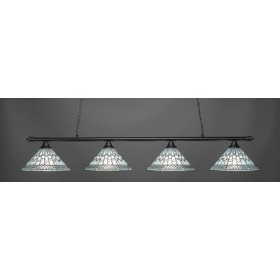 Oxford 4-Light Billiard Pendant