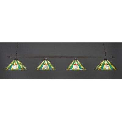 4-Light Billiard/Island Pendant