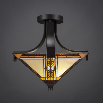 Apollo Semi Flush Mount