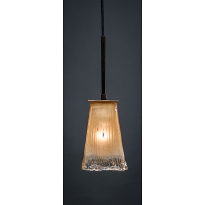 Apollo Mini Pendant Base Finish: Dark Granite