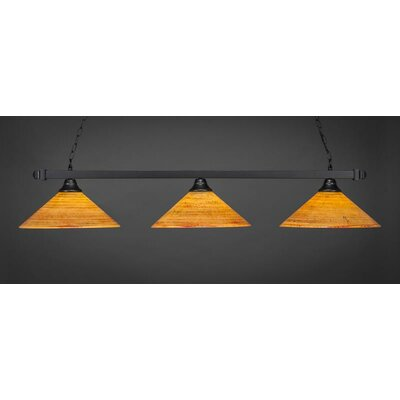 3-Light Billiard Pendant