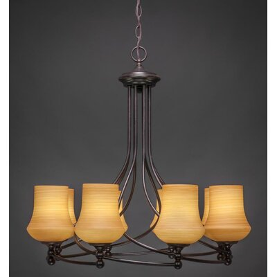 Capri 8-Light Shaded Chandelier
