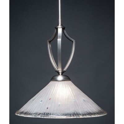 Zilo Mini Pendant Base Finish: Graphite