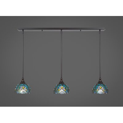 Any 3-Light Kitchen Island Pendant Finish: Dark Granite