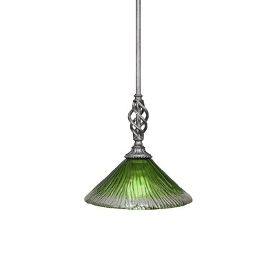 Elegante 1-Light Mini Pendant Size: 10.75 H x 10 W x 10 D