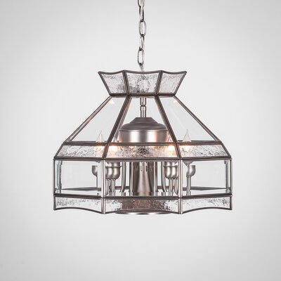 Europa 6-Light Candle-Style Chandelier