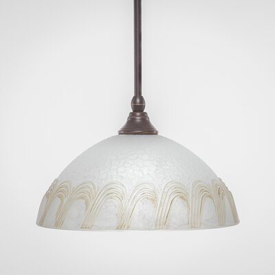 Stem 1-Light Mini Pendant Finish: Dark Granite