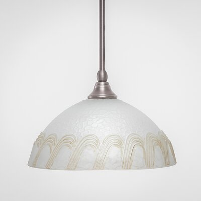 Stem 1-Light Mini Pendant Finish: Brushed Nickel