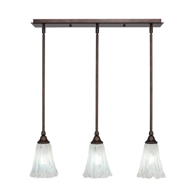 Any 3-Light Kitchen Island Pendant Finish: Bronze Finish