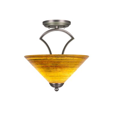 Zilo 2-Light Pendant Finish: Graphite