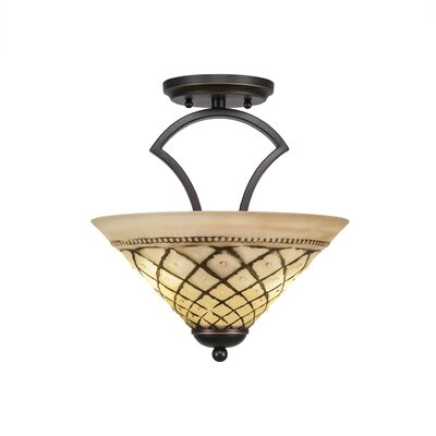 Zilo 2-Light Pendant Finish: Dark Granite