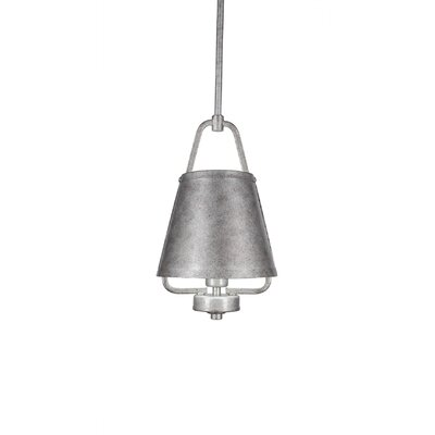 1-Light Mini Pendant Finish: Aged Silver