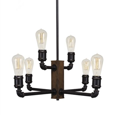 Davidson 6-Light Candle-Style Chandelier