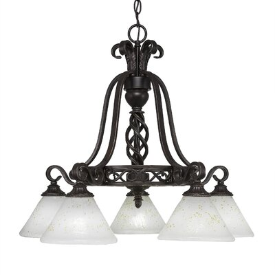 Elegant� 5-Light Shaded Chandelier