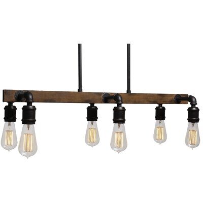 Portland 6-Light Kitchen Island Pendant