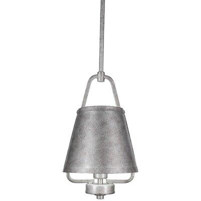 1-Light Mini Pendant Finish: Aged Silver