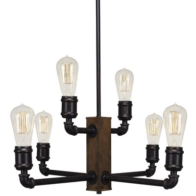 Portland 6-Light Candle-Style Chandelier