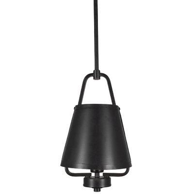 Sonora 1-Light Mini Pendant Finish: Dark Granite