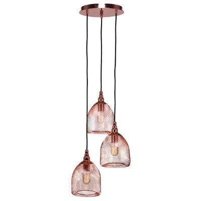 Plexus 3-Light Mini Pendant Finish: Copper